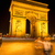 дуга · Париж · Франция · ночь · дороги · город - Сток-фото © zurijeta