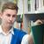 студент · книга · шельфа · библиотека · университета - Сток-фото © zurijeta
