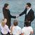 managers shaking hands stock photo © zurijeta