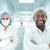 squadra · medici · piedi · ospedale · corridoio · donna - foto d'archivio © zurijeta