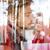 dobrar · beijo · dois · feliz · meninas · beijando - foto stock © zurijeta