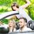 groep · gelukkig · jonge · vrouwen · genieten · auto · reis - stockfoto © zurijeta