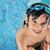 aranyos · kicsi · gyerek · úszómedence · fiú · víz - stock fotó © zurijeta