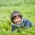 счастливым · мало · мальчика · красивой · зеленый · желтый - Сток-фото © zurijeta