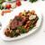 carne · hortalizas · preparado · servido · comida - foto stock © zurijeta