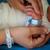 recién · nacido · bebé · primero · hospital · casa · cara - foto stock © zurijeta
