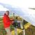 ingenieur · werken · laptop · zonnepanelen · business · huis - stockfoto © zurijeta