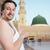 iszlám · minaret · közelkép · felső · mecset · kupola - stock fotó © zurijeta