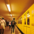 people crowd walking at subway train in motion stock photo © zurijeta