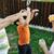 gelukkig · kinderen · spelen · bubbels · outdoor · selectieve · aandacht - stockfoto © zurijeta