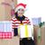 サンタクロース · ホールド · ギフトボックス · 男 · 背景 - ストックフォト © zurijeta