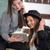 étudiant · deux · filles · étudier · ensemble · femme - photo stock © zurijeta
