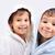 belo · feliz · infância · robe · isolado · amor - foto stock © zurijeta