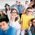 middelbare · school · studenten · groep · vergadering · samen · klas - stockfoto © zurijeta