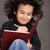 smiling little boy drawing stock photo © zurijeta