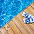 flip flops on a pool stock photo © zurijeta