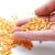 mezőgazdaság · kukorica · vetés · emberi · kéz · tart · mag - stock fotó © zurijeta