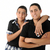 dois · árabe · amigos · isolado · família · cara - foto stock © zurijeta