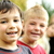 felicidade · feliz · crianças · juntos · ao · ar · livre - foto stock © zurijeta
