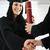 diploma · hand · geïsoleerd · witte · student - stockfoto © zurijeta