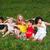 kleine · groep · gelukkig · kinderen · outdoor · meisje · glimlach - stockfoto © zurijeta