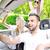 friends in a convertible stock photo © zurijeta