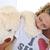 orsacchiotto · ragazza · amore · divertente - foto d'archivio © zurijeta
