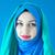 iráni · lány · mosolyog · zászló · Irán · arc - stock fotó © zurijeta