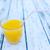 drink on white wood summer backgrounds stock photo © zurijeta