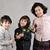 családi · portré · kettő · fiútestvérek · pózol · otthon · ölel - stock fotó © zurijeta