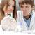 udany · zespołowej · wewnątrz · laboratorium · badań · młodych - zdjęcia stock © zurijeta