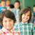 csoport · mosolyog · gyerekek · szórakozás · nyár · iskola - stock fotó © zurijeta