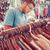 young man buying in second hand store stock photo © zurijeta