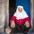 古い · 伝統的な · 遺産 · 着用 · 女性 · ポーズ - ストックフォト © zurijeta