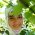 beautiful muslim girl with scarf stock photo © zurijeta