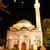 mesquita · noite · crescente · estrela · céu · vermelho - foto stock © zurijeta