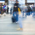 flou · personnes · marche · occupés · piéton · rue - photo stock © zurijeta