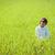 heureux · peu · garçon · belle · vert · jaune - photo stock © zurijeta