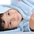 belo · feliz · infância · robe · isolado - foto stock © zurijeta