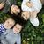 descuidado · infância · imagem · crianças · grama · verde - foto stock © zurijeta