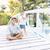 happy children spending holiday vacation in beautiful resort stock photo © zurijeta