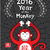 Chinese horoscope monkey design 2016 illustration stock photo © Zuzuan