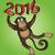 китайский · зодиак · знак · обезьяны · стиль - Сток-фото © zuzuan