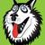 husky dog portrait illustration stock photo © zuzuan