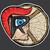 espartano · troiano · mascote · vetor · desenho · animado · lança - foto stock © zuzuan