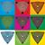 geometrik · biçim · dizayn · pulları · soyut · arka · plan - stok fotoğraf © Zuzuan