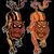 demon · ogen · gekleurd · illustratie · vector - stockfoto © zuzuan