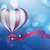 heart hot air balloon stock photo © zven0