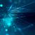 fractal · horizonte · futurista · projeto · azul · preto - foto stock © zven0