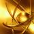 dourado · átomo · abstrato · fundo · ciência - foto stock © zven0